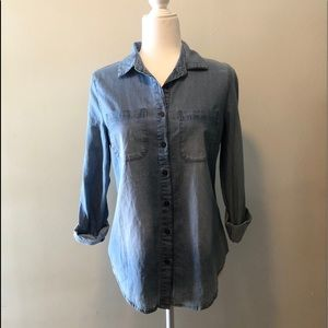 Chambray button up
